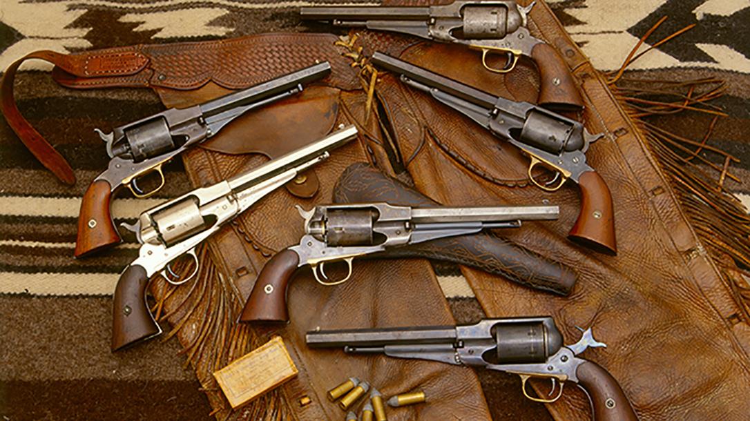 remington revolvers history