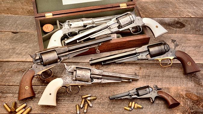 remington revolvers uberti and pietta