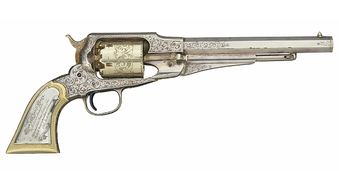 remington revolvers new model army george meade