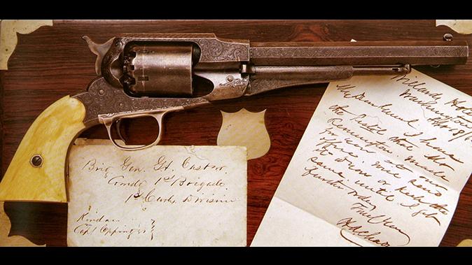 remington revolvers custer