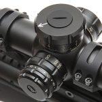savage model 10 grs rifle scope controls