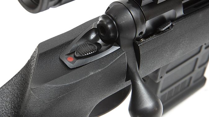 savage model 10 grs rifle safety
