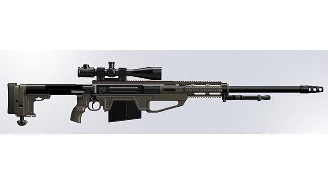 Steel Core Cyclone HSR big-bore rifles