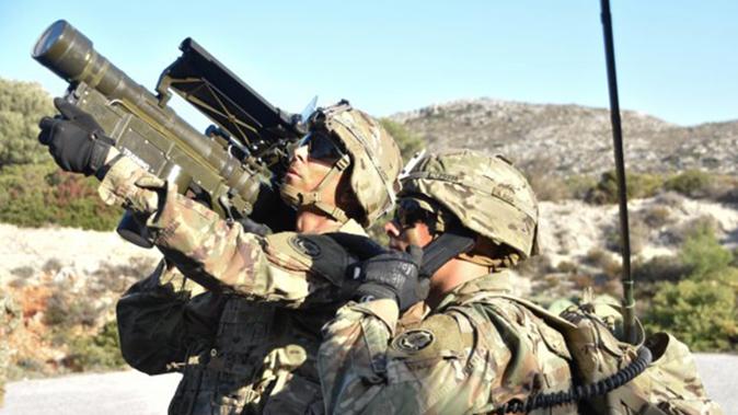 FIM-92 Stinger missile training