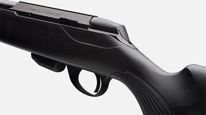 Tikka T1x MTR rifle rear view