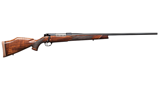Weatherby Mark V Deluxe big-bore rifles