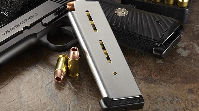 wilson combat chip mccormick custom magazine standard base pad
