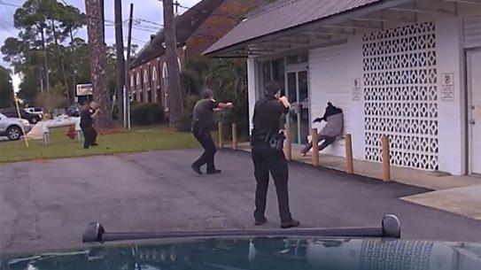 florida police shooting video