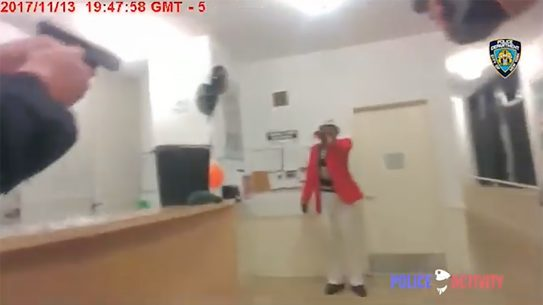 nypd officers body cam shooting