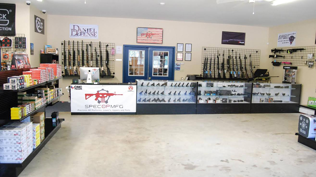 SpecOp Manufacturing showroom