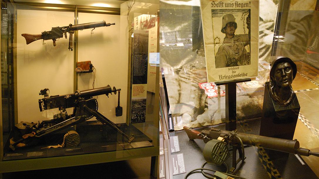 World War I Small Arms German MG08