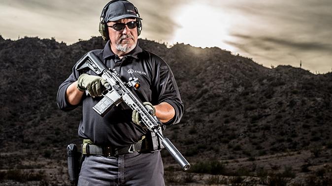 Barrett REC10 rifle fred mastison