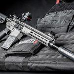 Barrett REC10 rifle right angle