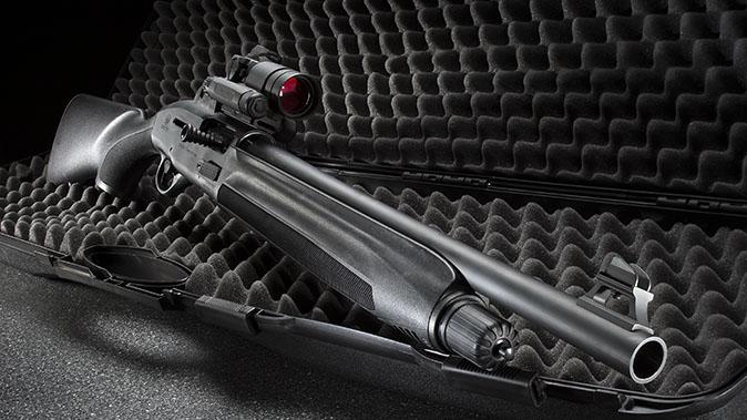 Beretta 1301 Tactical shotgun right angle
