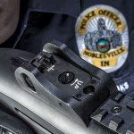 Beretta 1301 Tactical shotgun rear sight