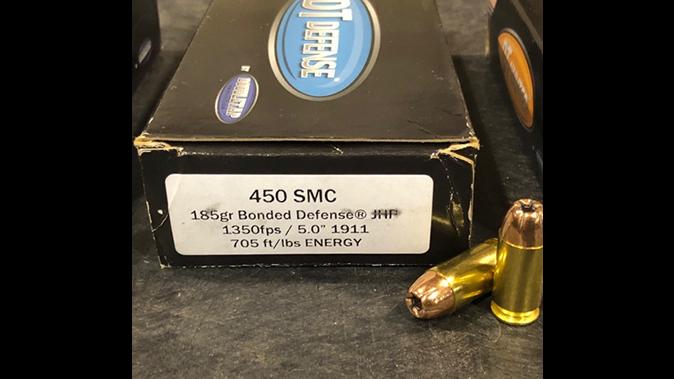 CMMG MkG GUARD .450 smc rounds