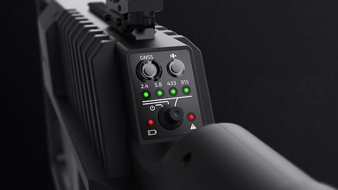 DroneGun Tactical jamming signals