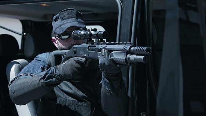 fabarm STF 12 Shotgun car action