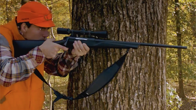 Franchi Momentum rifle aiming