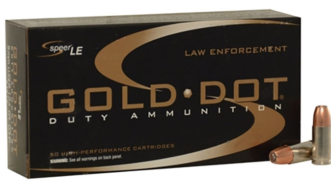 speer gold dot french national police duty ammo