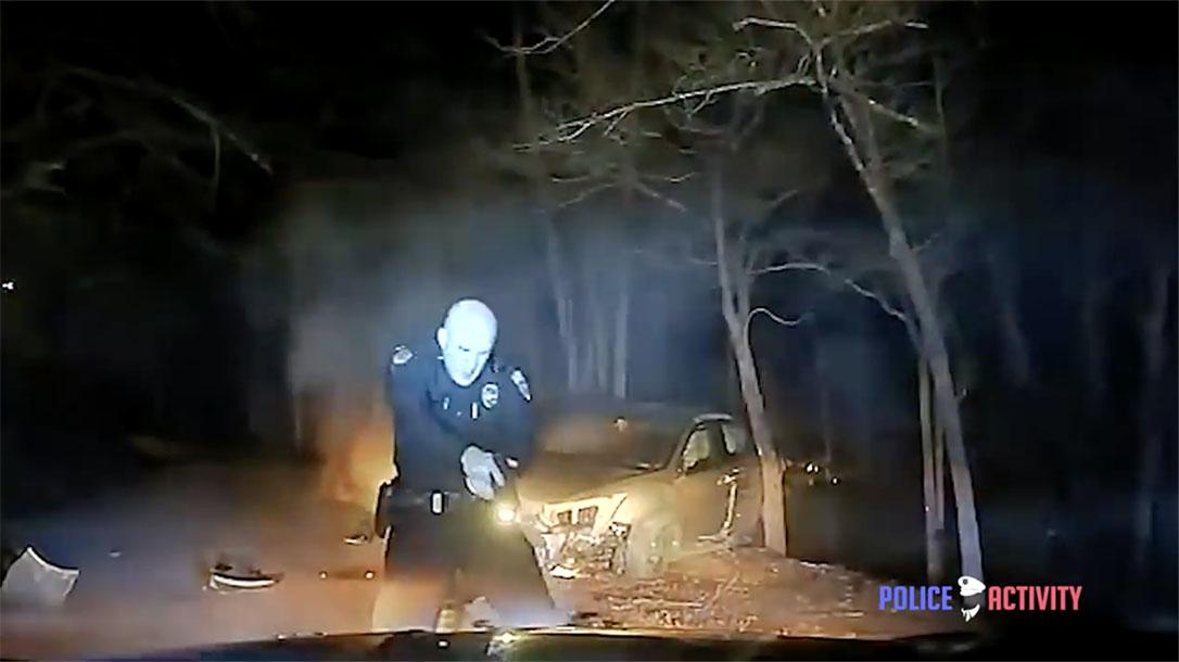 georgia police shooting officer gun drawn