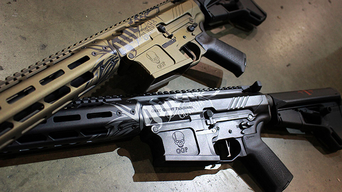 Gurkha Grey Ghost rifles left profile