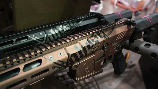 Gurkha Grey Ghost rifles rails