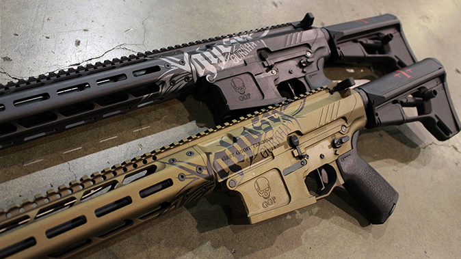 Gurkha Grey Ghost rifles angle