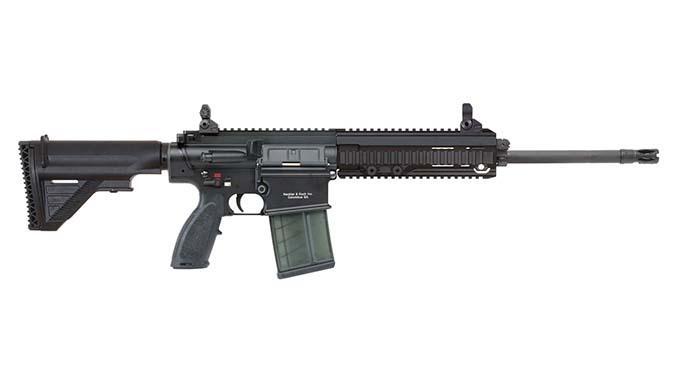 HK MR762A1 rifle hk sights right profile