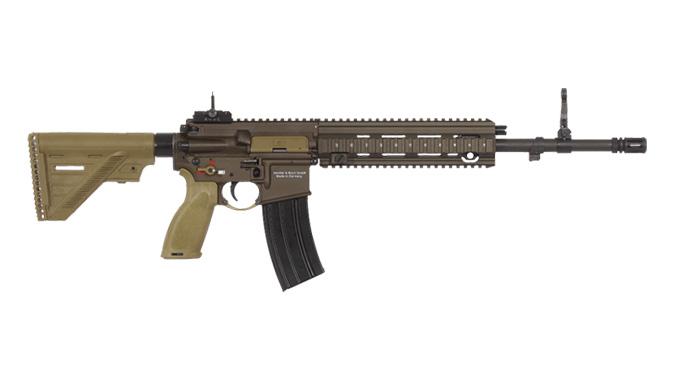 heckler koch HK416 A5 rifle 16.5 inch barrel right profile
