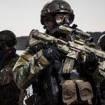 HK416 A5 rifles Korps Commandotroepen rifle