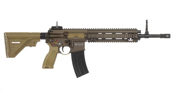 heckler koch HK416 A5 rifle 14.5 inch barrel right profile