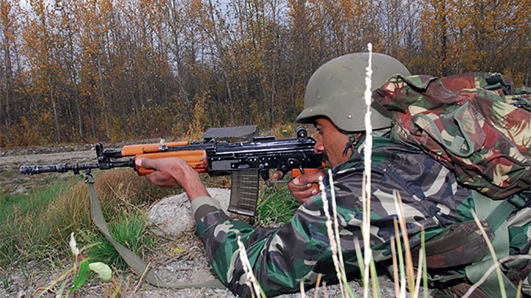 india insas rifles