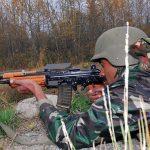indian army insas rifle shooting