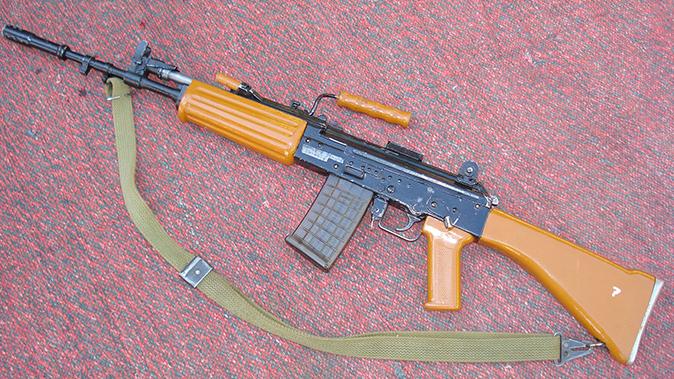 indian army insas rifle profile