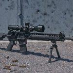 LMT MARS-L rifle right angle