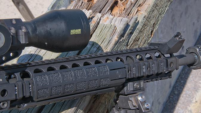 LMT MARS-L rifle handguard covers