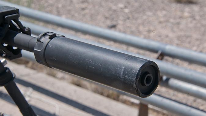 LMT MARS-L rifle suppressor