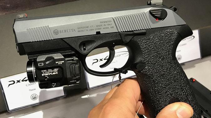 Langdon Tactical Beretta PX4 Carry pistol left profile