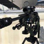 minneapolis police super bowl 52 oss suppressors rifle closeup
