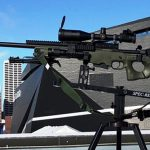 minneapolis police super bowl 52 oss suppressors rifle left profile