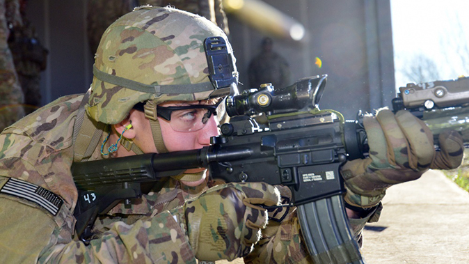 army next generation squad weapon m4 carbine firing