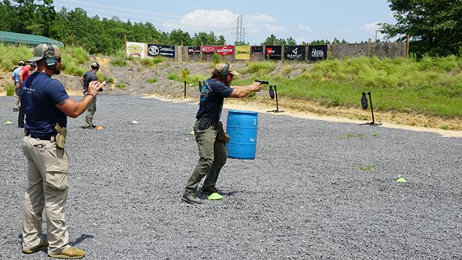 Pat McNamara gunfight mobility tactics aiming gun