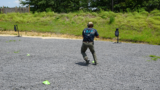 Pat McNamara gunfight mobility tactics shifting body