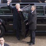police cruisers donald trump inauguration
