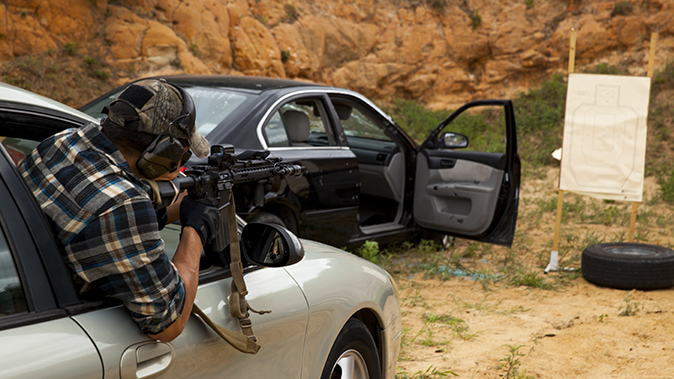 aaron barruga police shootout leaning window