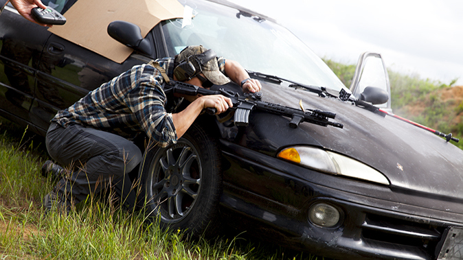 aaron barruga police shootout vehicle cover