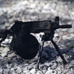 Kalashnikov RPK-16 machine gun angle