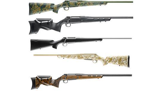 new sauer 100 bolt-action rifles 2018