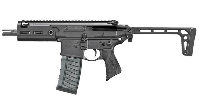 Sig MCX Rattler rifle left profile